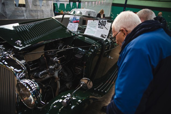 Display your vintage motor at the Bristol Classic Car Show. Held at the Royal Bath and West Showground, the show attract classic car clubs, petrol heads and traders selling car parts and spares
